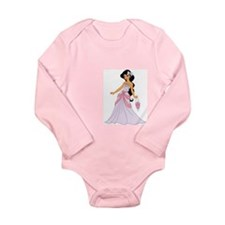 Jasmine Long Sleeve Infant Bodysuit
