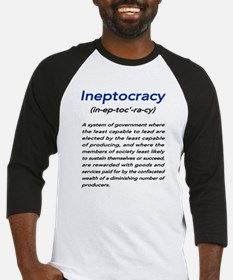 Meaning of Ineptocracy Baseball Jersey