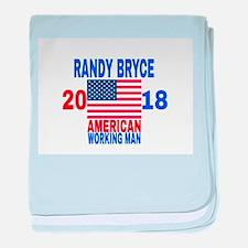 RANDY BRYCE 2018 baby blanket
