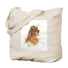 Irish Red Setter Tote Bag