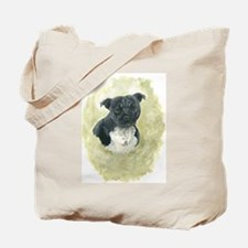 Stafforshire Bull Terrier Tote Bag