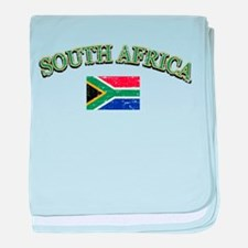 South Africa Football baby blanket