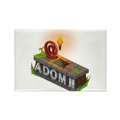 ADOM II Logo Rectangle Magnet (10 pack)