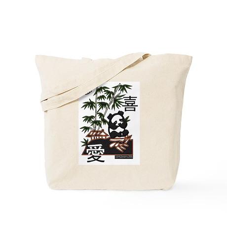 Dream Joy Love Panda Tote Bag