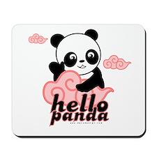 Hello Panda Mousepad