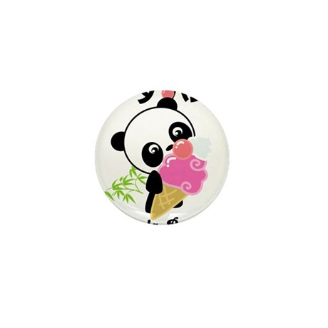 panda icecream PNG.png Mini Button