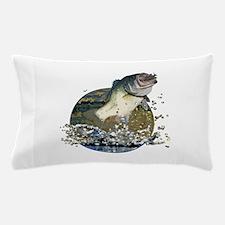 Largemouth Bass Pillow Case
