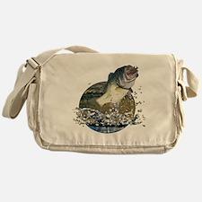 Largemouth Bass Messenger Bag