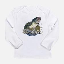 Largemouth Bass Long Sleeve Infant T-Shirt