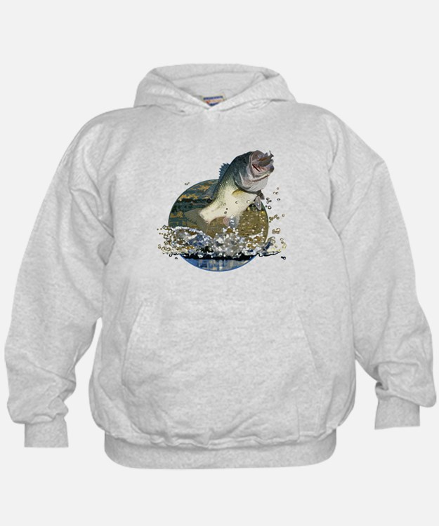 bass fishing hoodies bass fishing sweatshirts crewnecks On bass fishing hoodies