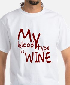 My Blood Type Is Wine Shirt