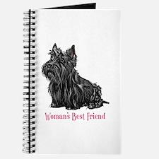 Woman's Best Friend Scottie Journal
