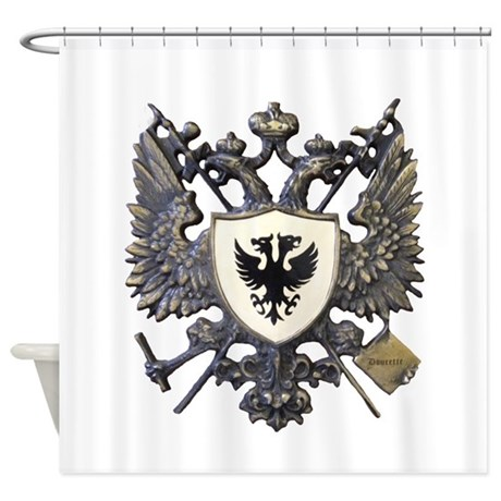 Doucette Family Crest Shower Curtain By