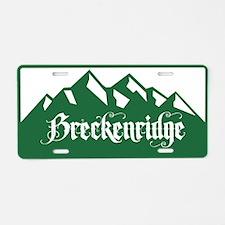 Breckenridge Green Mountain Aluminum License