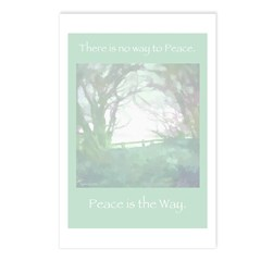 Peace Is The Way Postcards (Package of 8)