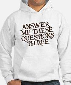 questions three Hoodie