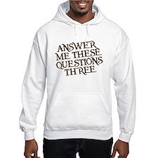 questions three Jumper Hoody