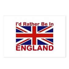 England Lover Postcards (Package of 8)