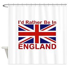England Lover Shower Curtain
