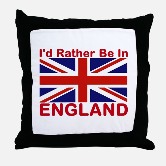 England Lover Throw Pillow