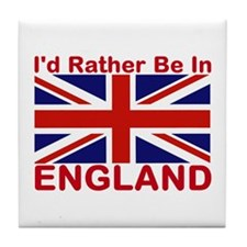 England Lover Tile Coaster