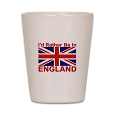 England Lover Shot Glass