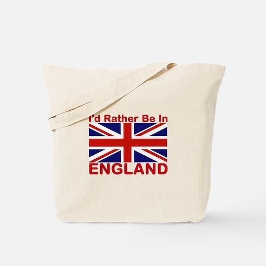 England Lover Tote Bag