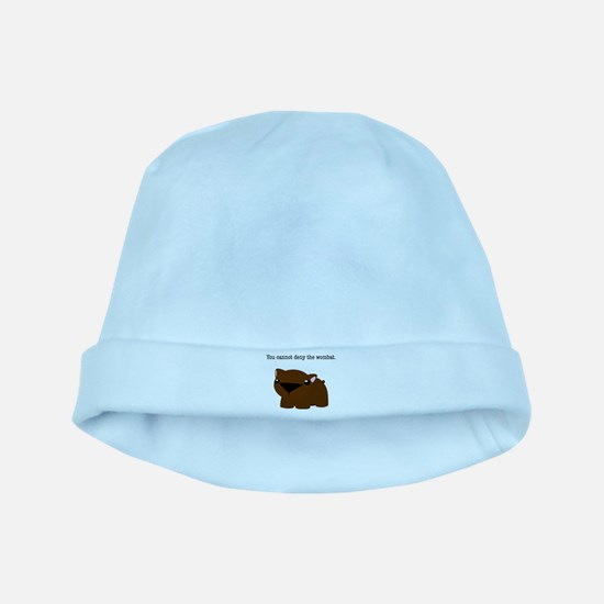 Wombat baby hat