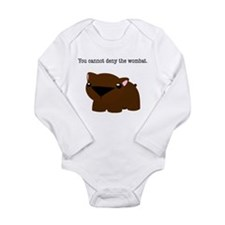 Wombat Long Sleeve Infant Bodysuit