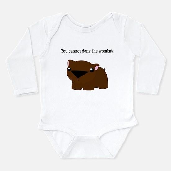 Wombat Long Sleeve Infant Bodysuit