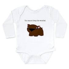 Wombat Onesie Romper Suit