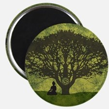 Buddha Under the Bodhi Tree Magnet