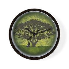 Buddha Under the Bodhi Tree Wall Clock