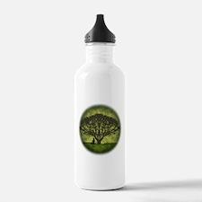Buddha Under the Bodhi Tree Water Bottle