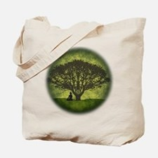 Buddha Under the Bodhi Tree Tote Bag