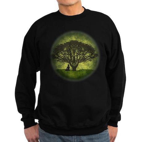 Buddha Under the Bodhi Tree Sweatshirt (dark)