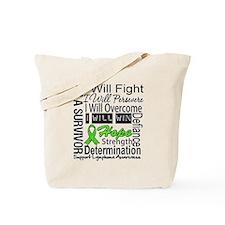 Lymphoma Persevere Tote Bag