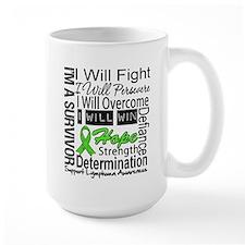 Lymphoma Persevere Mug