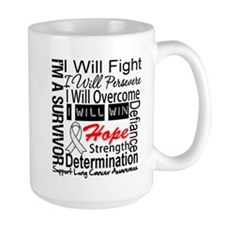 Lung Cancer Persevere Mug