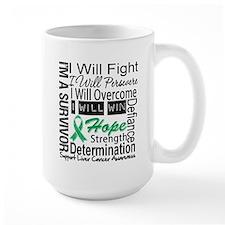 Liver Cancer Persevere Mug