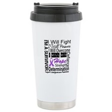 Leiomyosarcoma Persevere Travel Mug