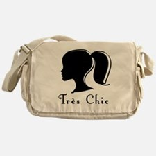 Tres Chic girl.png Messenger Bag