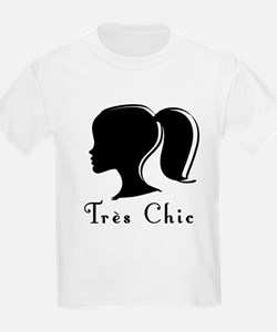 Tres Chic girl.png T-Shirt