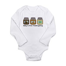 1st Thanksgiving Jars Body Suit