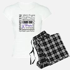 Hodgkin Disease Persevere pajamas