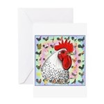 Roosters! Greeting Card