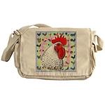 Roosters! Messenger Bag