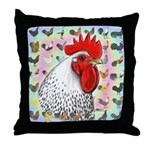 Roosters! Throw Pillow