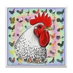 Roosters! Tile Coaster
