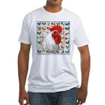 Roosters! Fitted T-Shirt